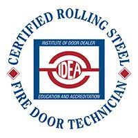Certified Rolling Steel Fire Door Technician